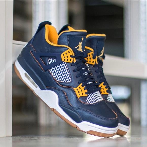 "buy popular c42e7 0ef70 🧢New Nike Air Jordan Retro 4 ""Dunk From Above"" NWT"